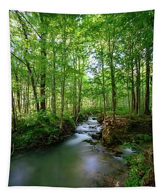 The Green Forest Tapestry