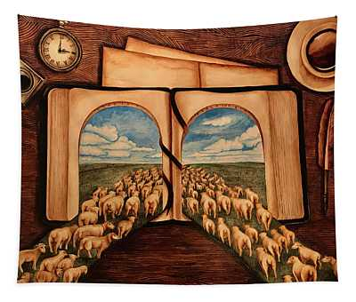 The Green Pasture Tapestry