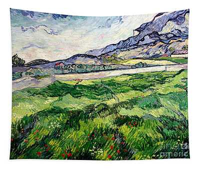 The Green Wheatfield Behind The Asylum Tapestry