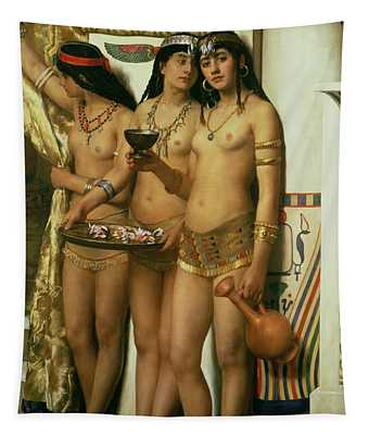 The Handmaidens Of Pharaoh Tapestry