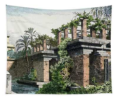 The Hanging Gardens Of Babylon Tapestry