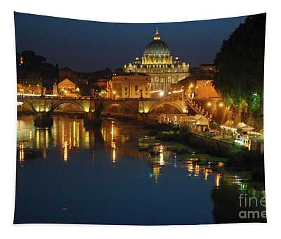 Eternal Sound Of Rome Tapestry