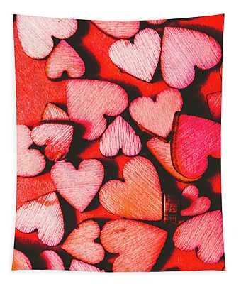 The Heart Of Decor Tapestry
