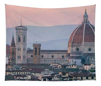 The Heart Of Florence Italy Tapestry