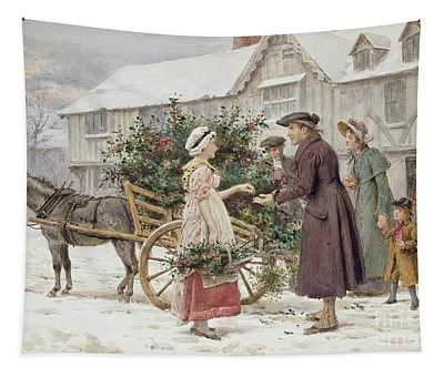 The Holly Cart Tapestry