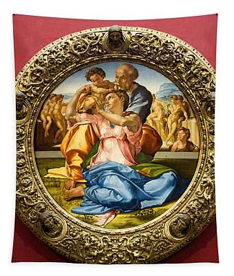 The Holy Family - Doni Tondo - Michelangelo Tapestry