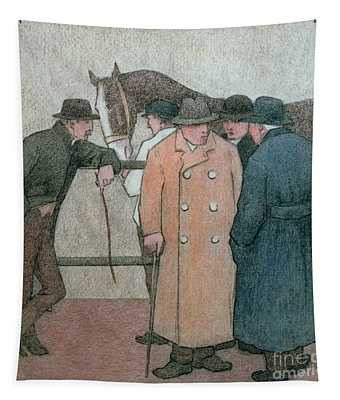 The Horse Dealers  Tapestry