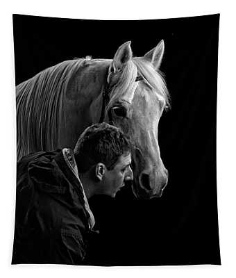 The Horse Whisperer Extraordinaire Tapestry