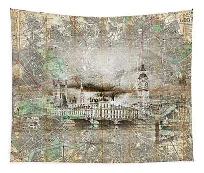 The House Mapped Tapestry