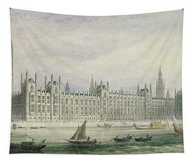 The Houses Of Parliament Tapestry