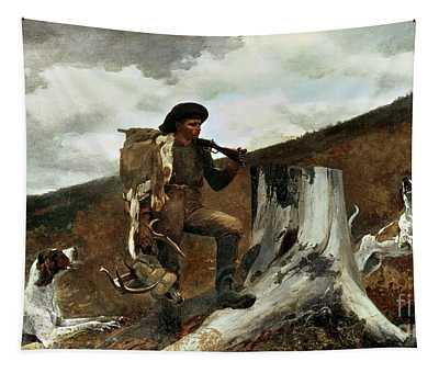 The Hunter And His Dogs Tapestry