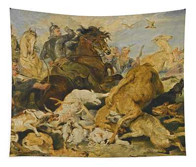 The Hunting Of Chevy Chase Tapestry