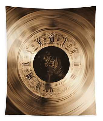 The Illusion Of Time Tapestry