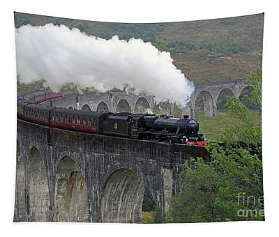 The Jacobite Steam Train Tapestry