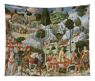 The Journey Of The Magi To Bethlehem Tapestry