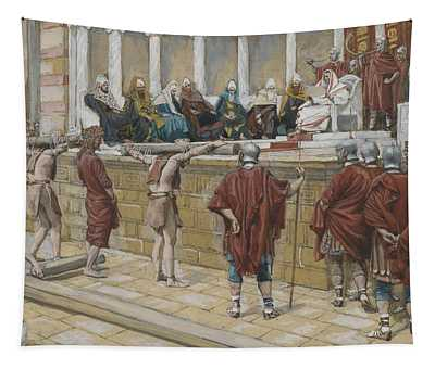The Judgement On The Gabbatha Tapestry