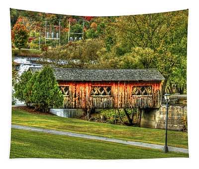 The Kissing Bridge Tapestry