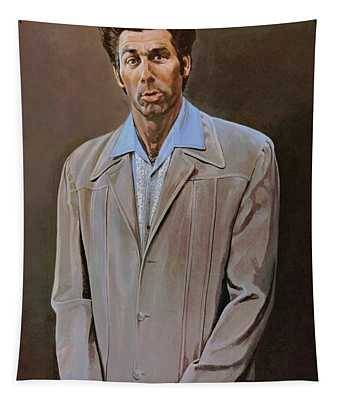 The Kramer Portrait  Tapestry