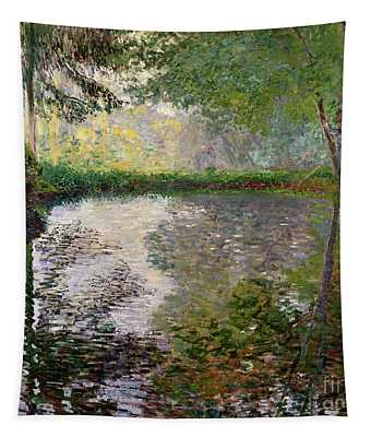 The Lake At Montgeron Tapestry