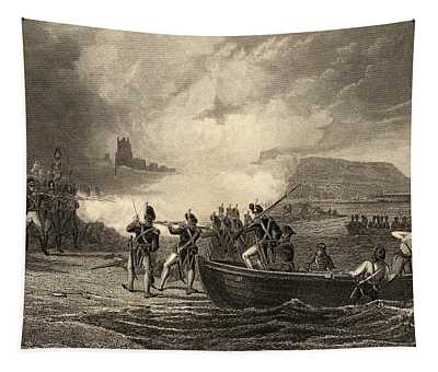 The Landing Of The French In Bantry Bay Tapestry