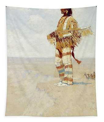 The Last Of His Race  The Vanishing American, 1908 Tapestry