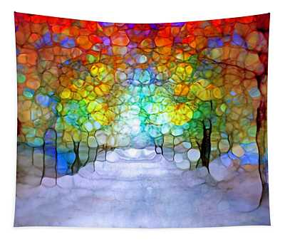 The Laughing Forest Tapestry