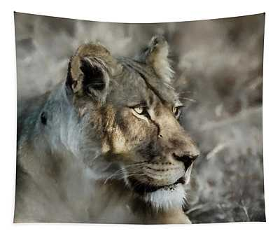 The Lioness  Tapestry