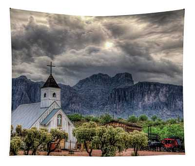 The Little Church  Tapestry