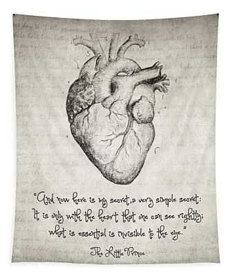 The Little Prince Quote Tapestry