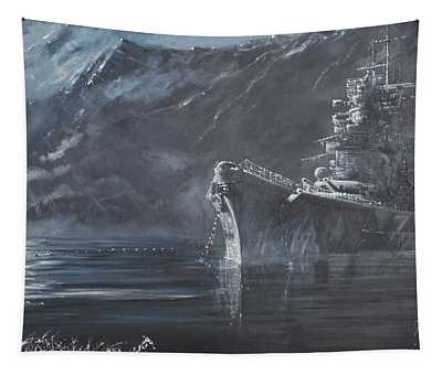 The Lone Queen Of The North Tapestry