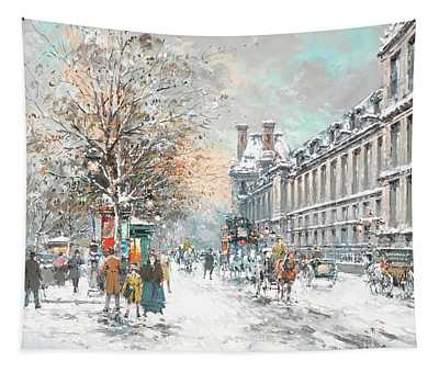 The Louvre-winter Tapestry