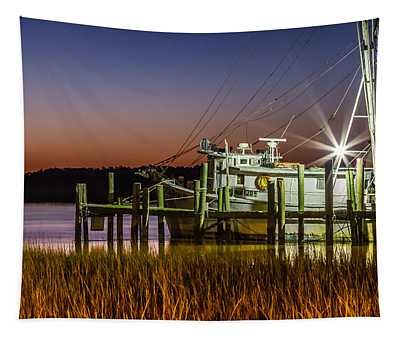The Low Country Way - Folly Beach Sc Tapestry