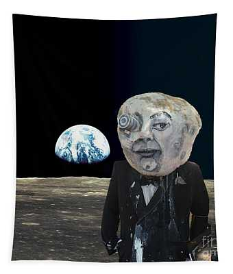 The Man In The Moon Tapestry