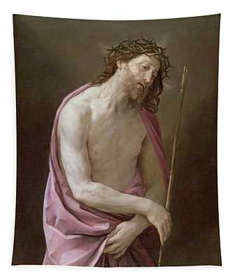 The Man Of Sorrows Tapestry