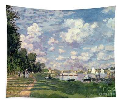 The Marina At Argenteuil Tapestry