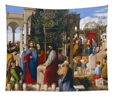 The Marriage At Cana Tapestry
