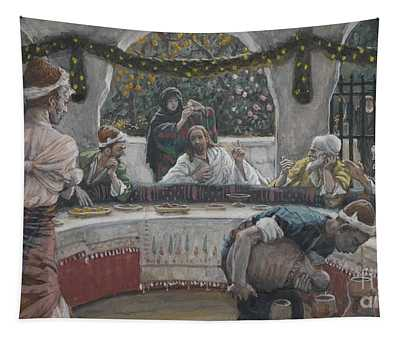 The Meal In The House Of The Pharisee Tapestry