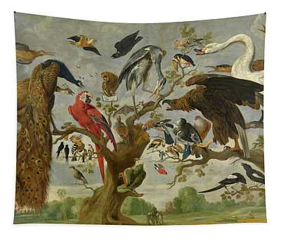 The Mockery Of The Owl Tapestry
