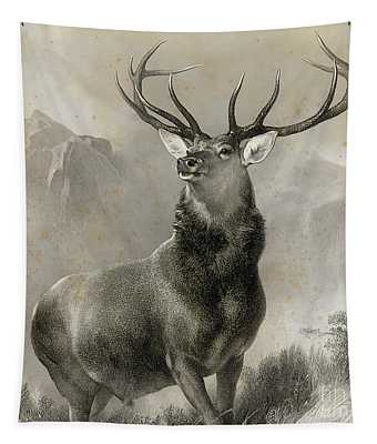 The Monarch Of The Glen, 1852 Tapestry