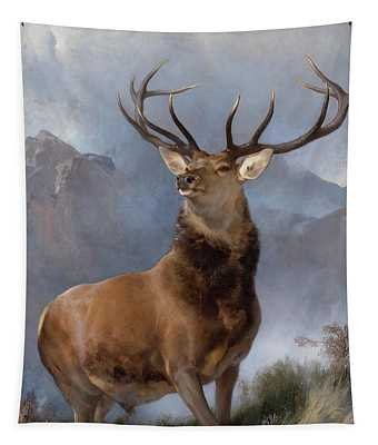 Monarch Of The Glen Tapestry