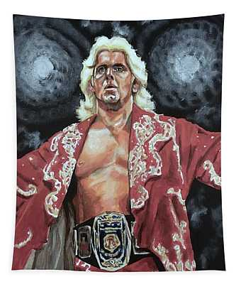 The Nature Boy Ric Flair Tapestry