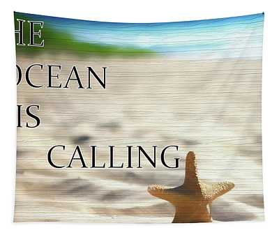 The Ocean Is Calling Tapestry