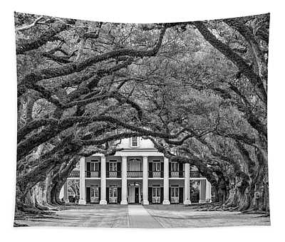 The Old South Bw Tapestry