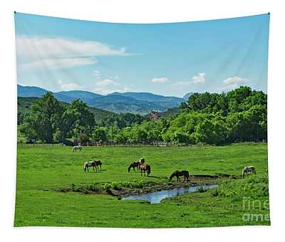 The Old Water Hole Tapestry