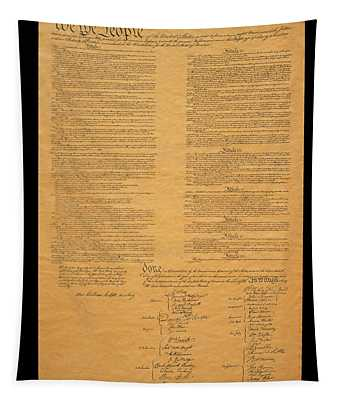 The Original United States Constitution Tapestry
