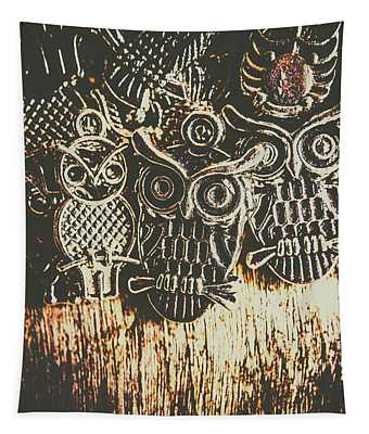The Owlactic Gathering Tapestry