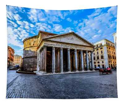 The Pantheon Rome Tapestry