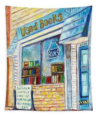 The Paperbacks Plus Book Store St Paul Minnesota Tapestry