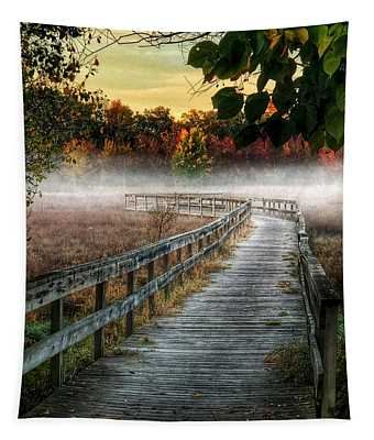 The Peaceful Path Tapestry