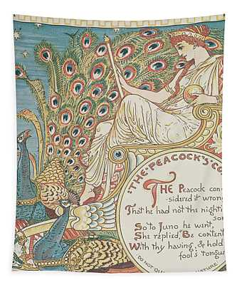 The Peacocks Complaint Tapestry